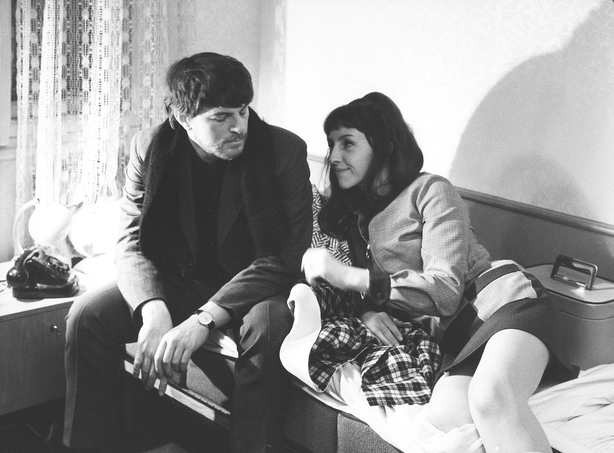 Po boku své ženy Niny Divíškové ve snímku Velká neznámá (1970).