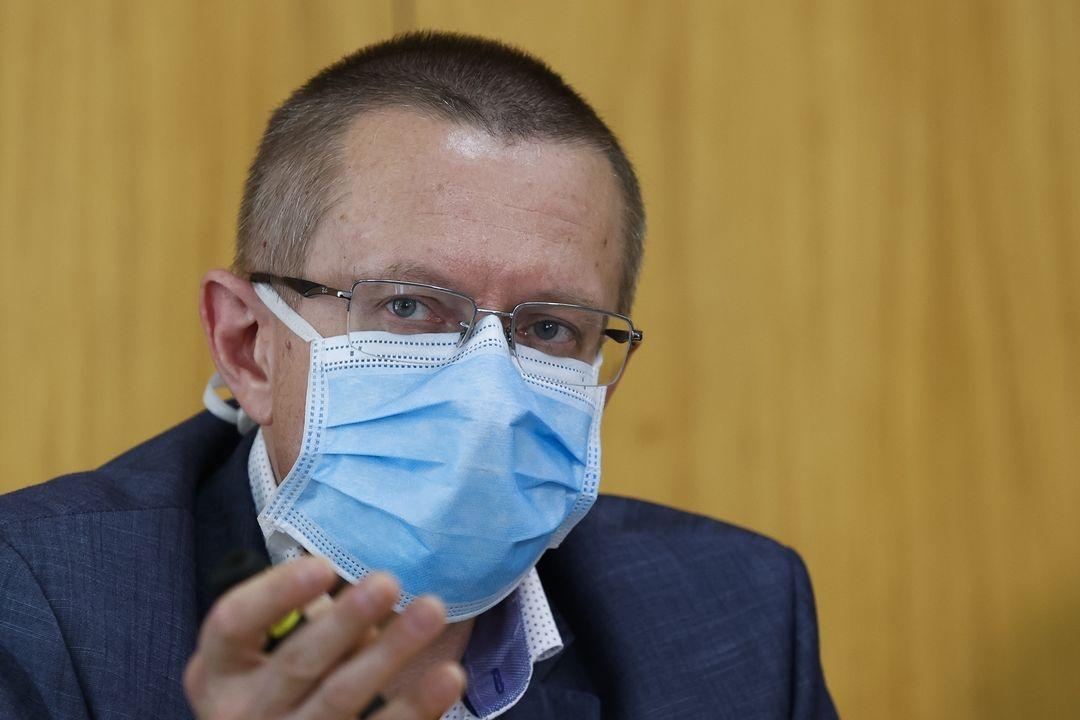 Ředitel Ústavu zdravotnických informací a statistiky (ÚZIS) Ladislav Dušek