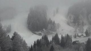 Na Německo se valí přívaly sněhu, Česko jenom líznou