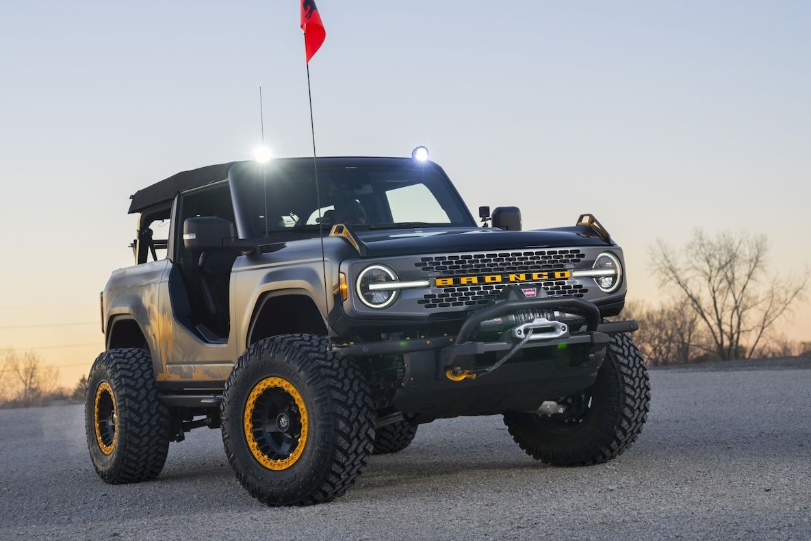 Ford Bronco Badlands Sasquatch 2-Door