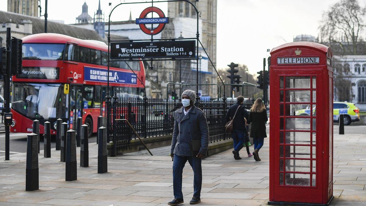 Londýnem se šíří nová mutace koronaviru