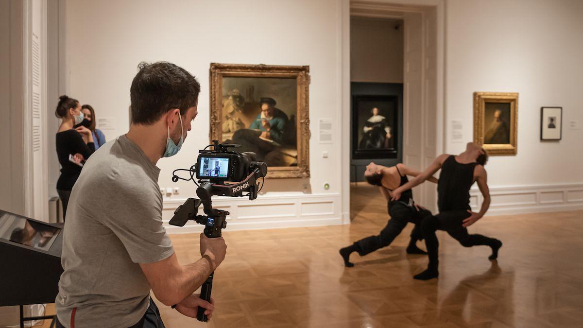 Rembrandt a Saskia. Balet mezi obrazy