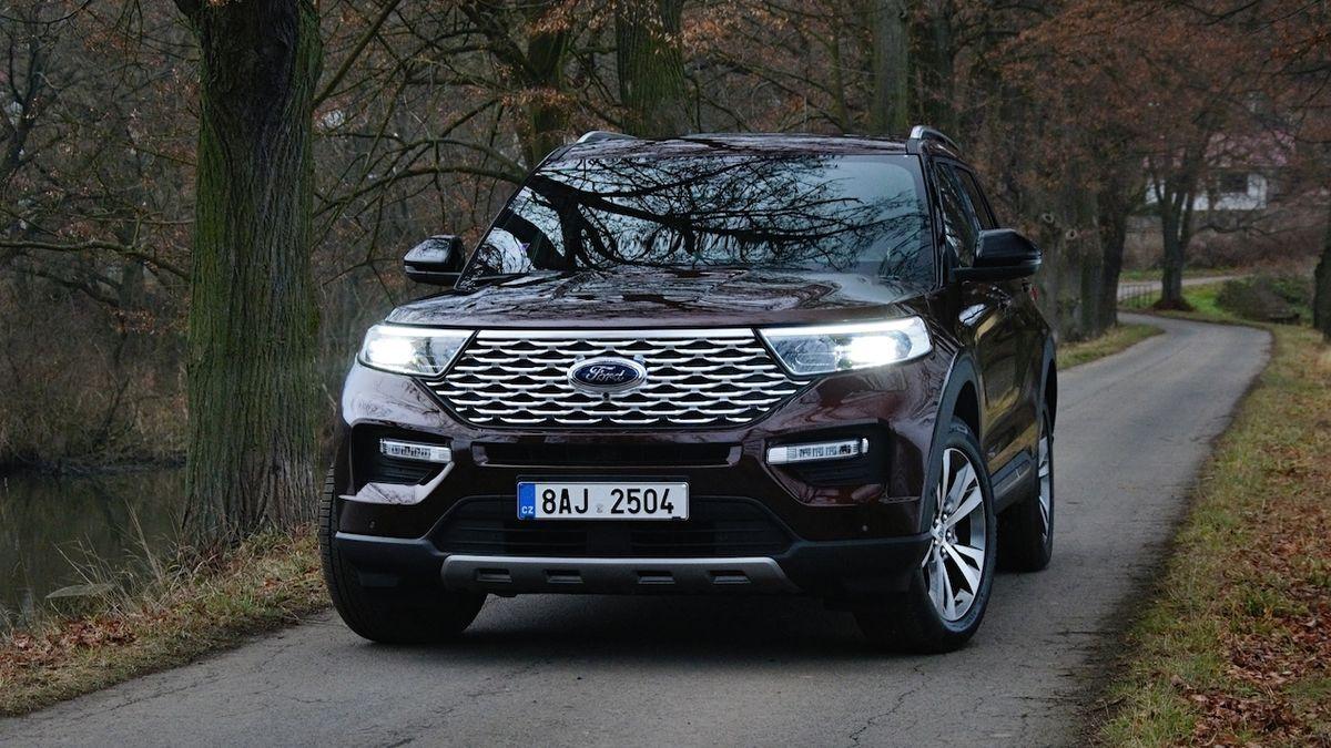 První jízda s novým Fordem Explorer: Když vládne točivý moment