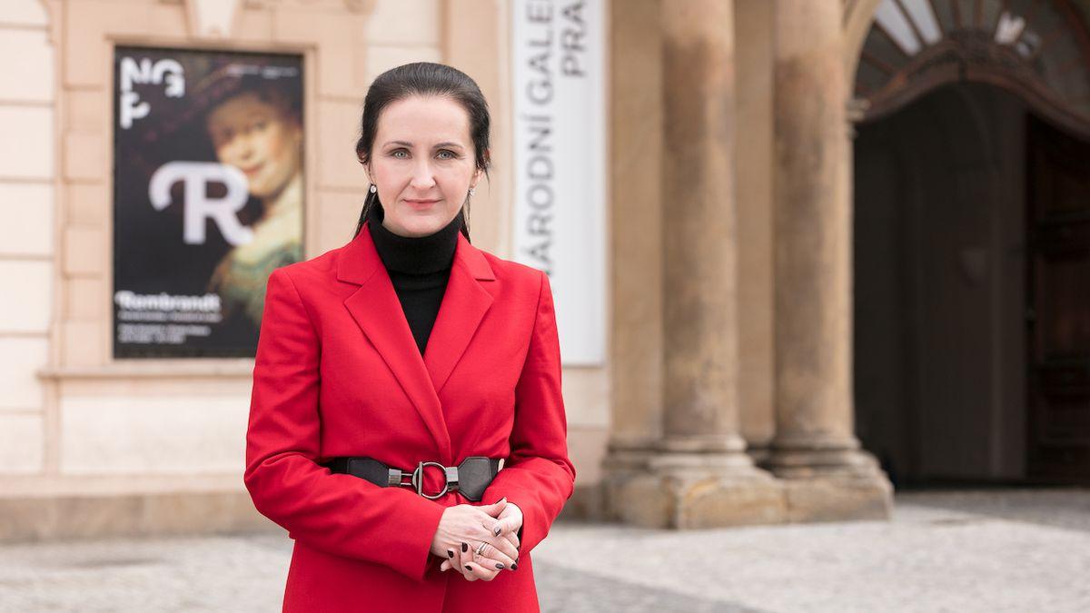 Ředitelka Národní galerie Praha Alicja Knastová: Zajímá mě jen, jak a co mohu změnit
