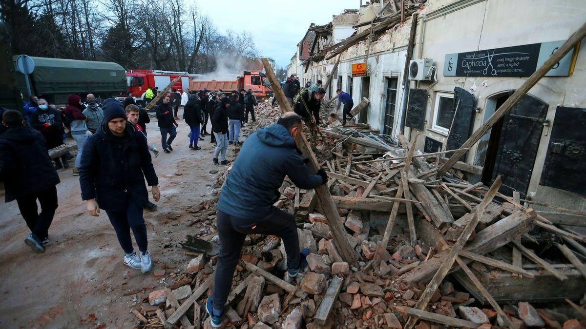 Do Chorvatska po zemětřesení pošle Česko vybavení za 5 milionů Kč