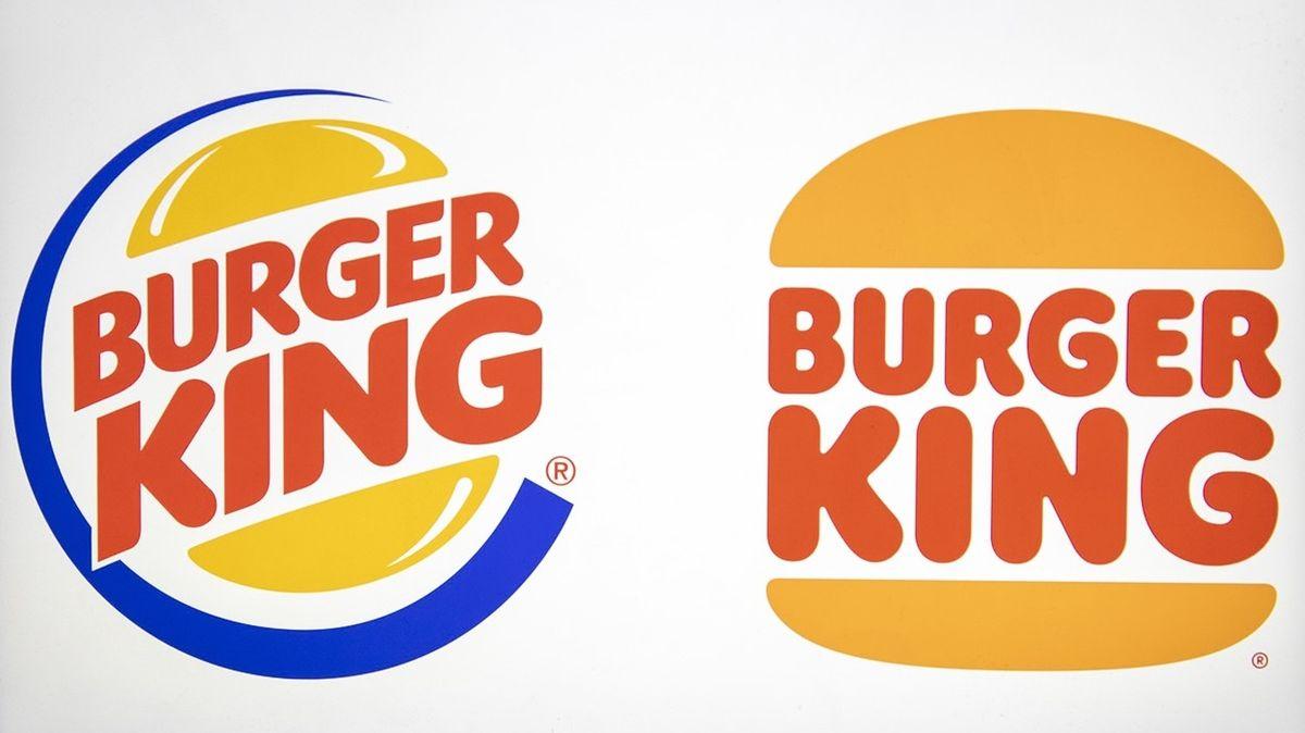 Burger King změnil logo, reakce jsou smíšené