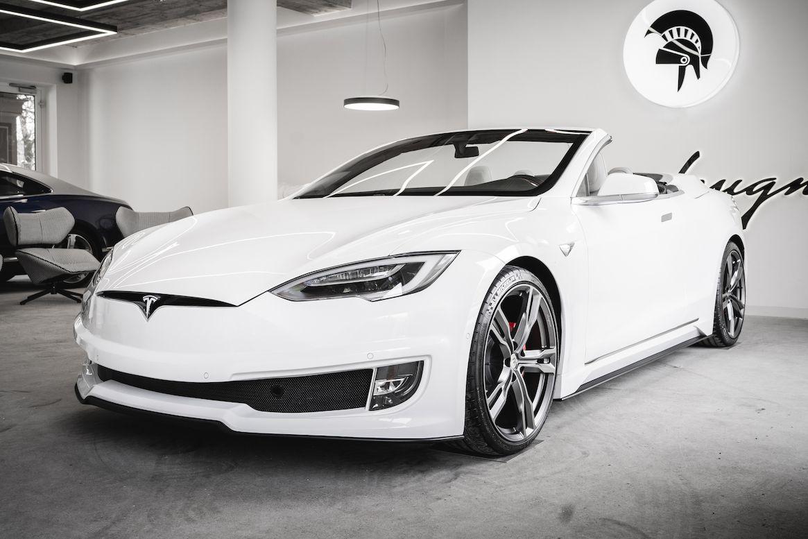 Tesla Model S kabriolet od Ares Design