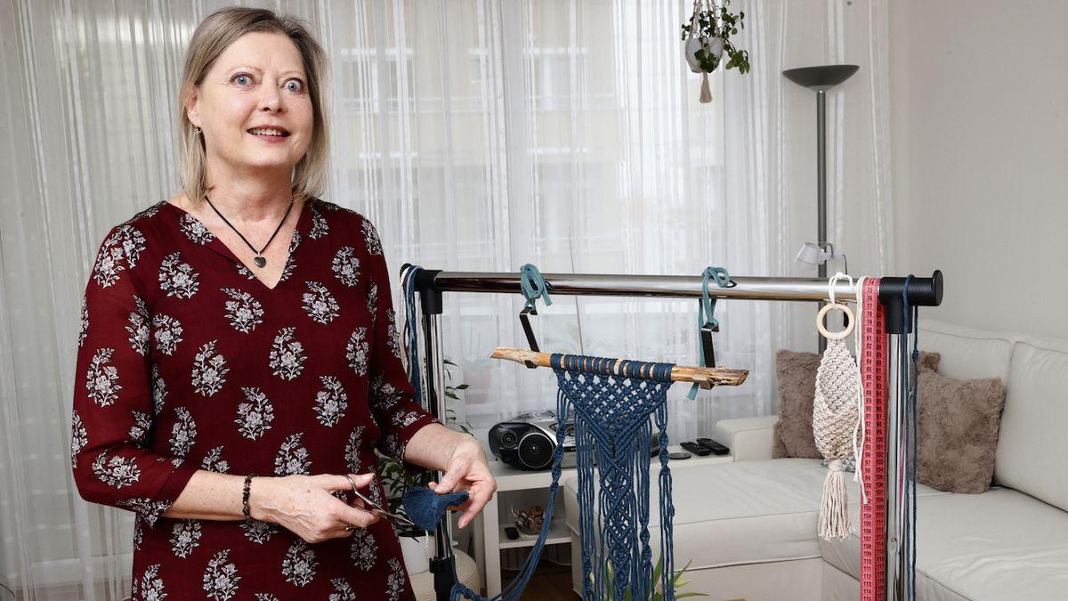 Iveta Červenková: Drhání neboli macramé mě vrací do života