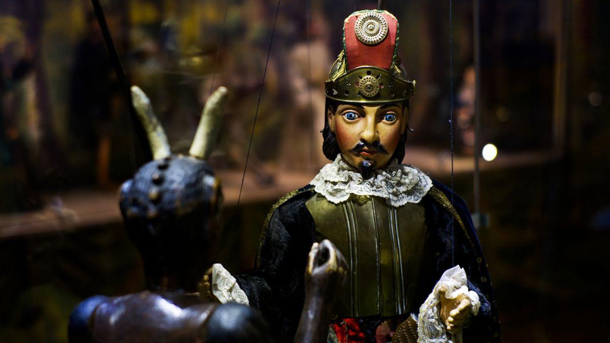 Ze zavřených galerií: Muzeum v Chrudimi nabídne Spejbla i Mufa