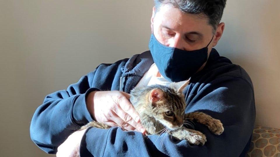 Svou ztracenou kočku nalezl po 15 letech