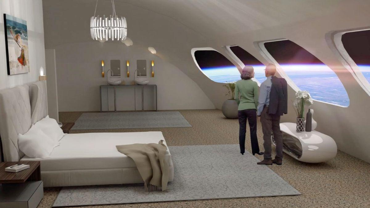 První vesmírný hotel plánuje otevřít už v roce 2027. Levný nebude