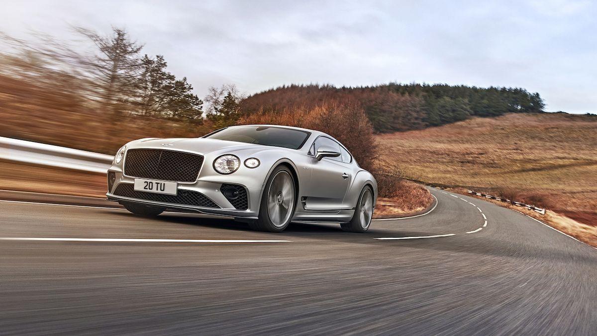 Nový Continental GT Speed je nejdynamičtějším Bentley