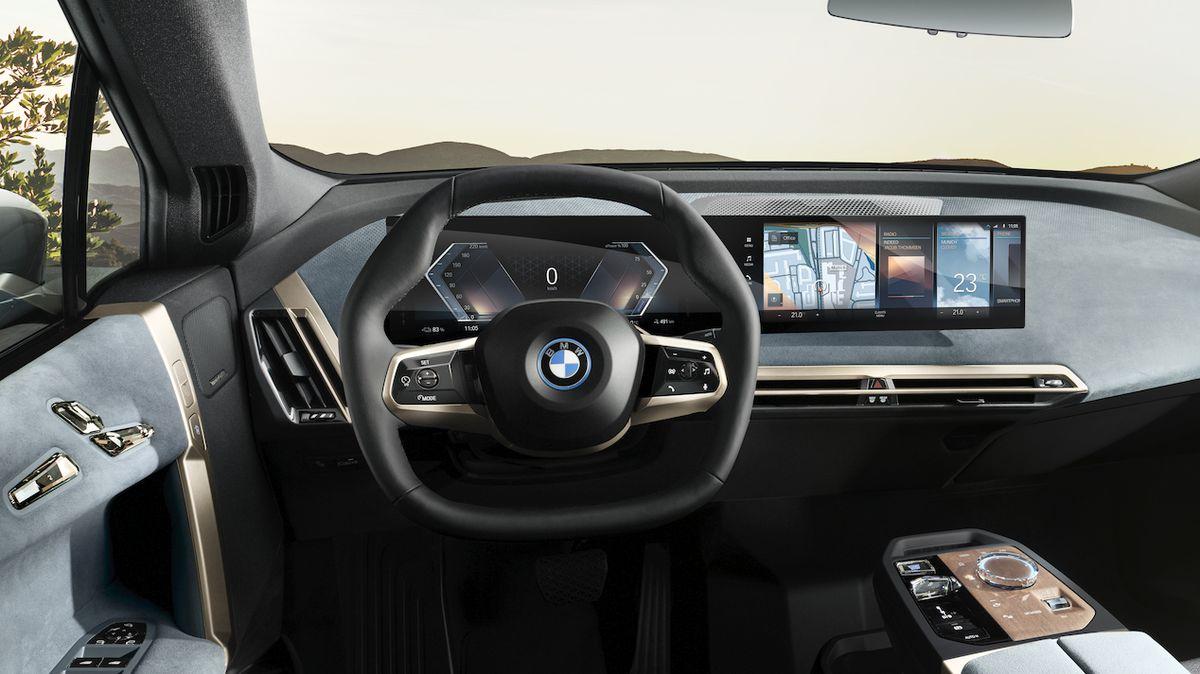 BMW představuje infotainment iDrive osmé generace