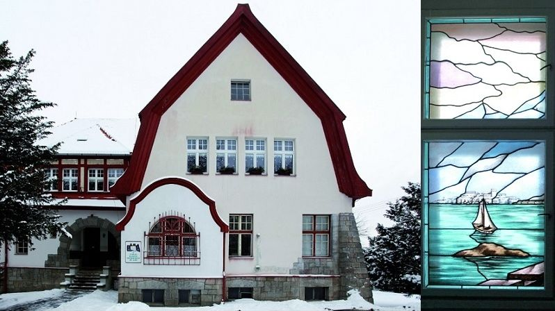 Chebská vila Karla Kreuzingera ze začátku 20. století si styl dochovala dodnes