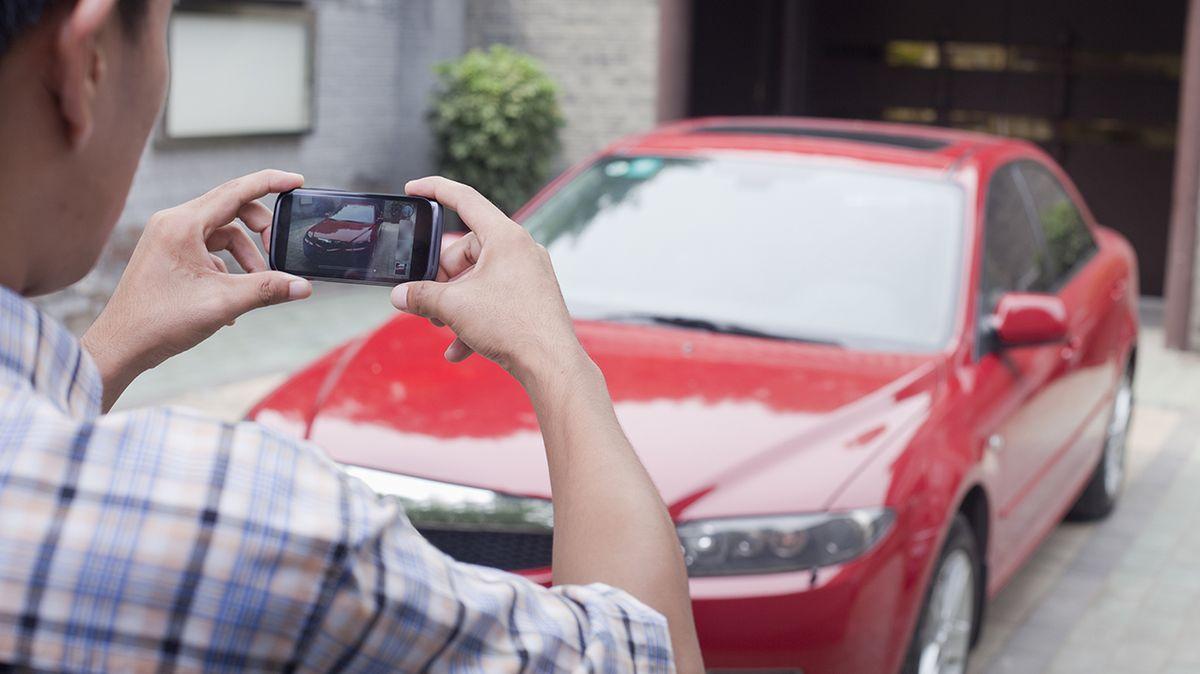 Auto si můžete sami nafotit, ušetříte čas ipohonné hmoty