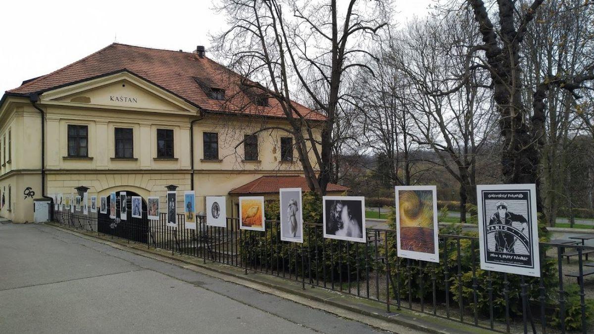 Ze zavřených galerií: Výstava na plotě pražského Kaštanu