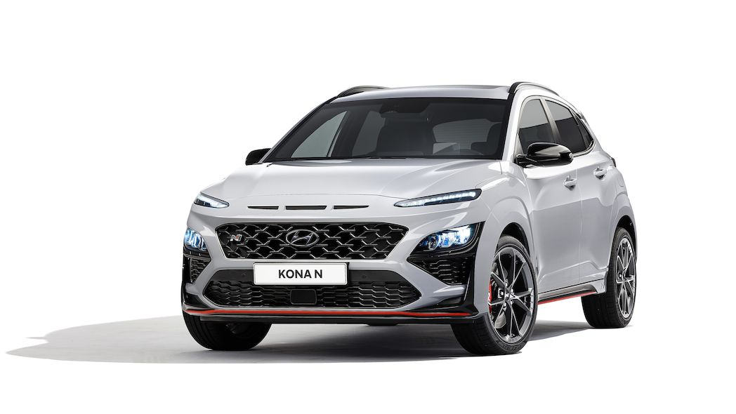 Hyundai představuje ostrý crossover Kona N