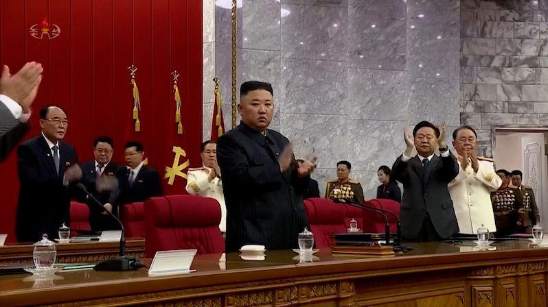 Severní Korea by se měla připravit na konfrontaci s USA, oznámil Kim