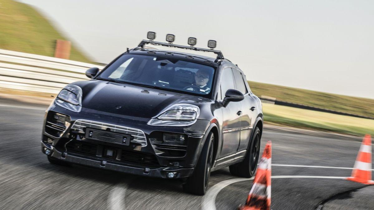 Porsche chystá své první elektrické SUV, nový macan už prochází finálními testy