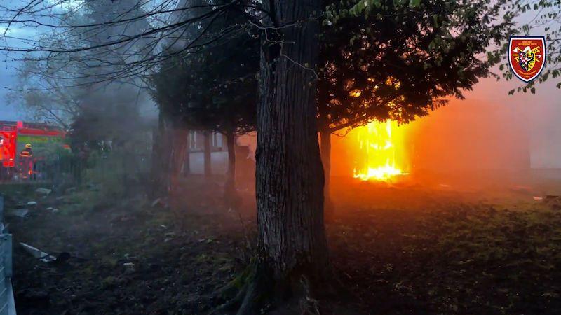 Na Frýdecko-Místecku hořely unimobuňky