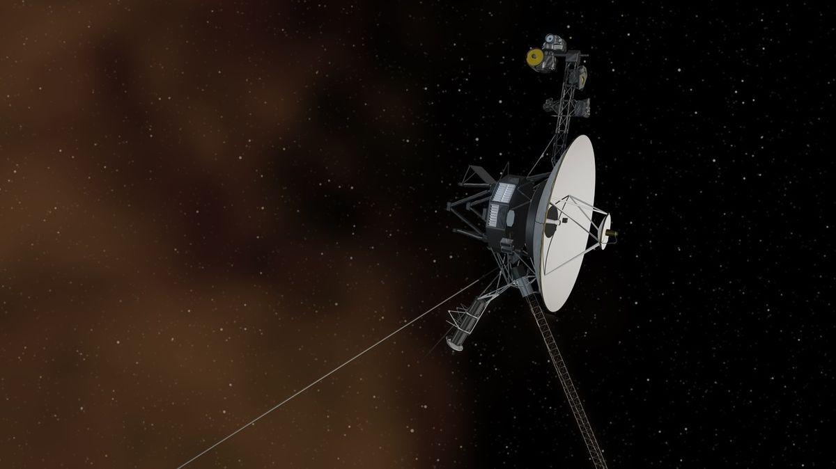 Sonda Voyager zachytila zvuk z hranic Sluneční soustavy. Je to hukot, který ale neslyšíme