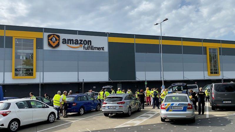 Policie a inspektoři zasahovali v Amazonu, kontrolovali podmínky pracovníků