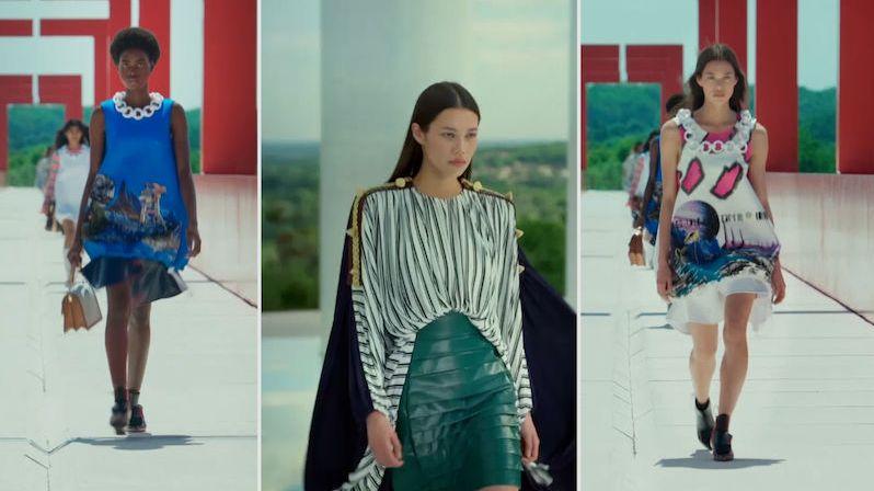 Móda na cesty podle značky Louis Vuitton