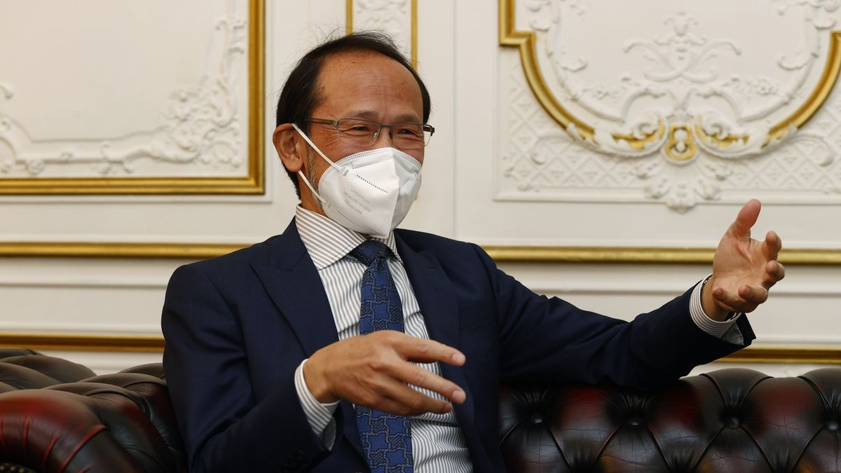 Japonský velvyslanec v Česku: Jsme odhodlaní hry uspořádat