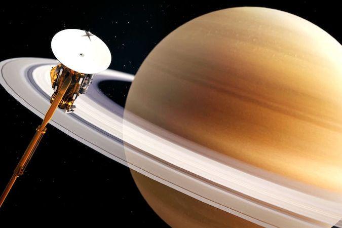 V oceánu na Saturnově měsíci Enceladus mohou být proudy