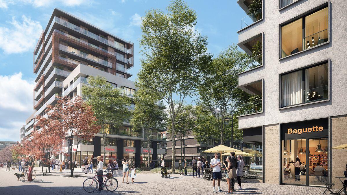 Onové byty vParkové čtvrti od Central Group je rekordní zájem