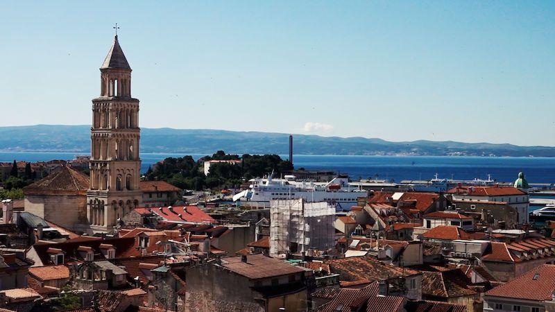 Split a okolí lákají na antické památky i nejhezčí pláž Jadranu