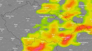 Dorazí další silné bouřky, varovali meteorologové
