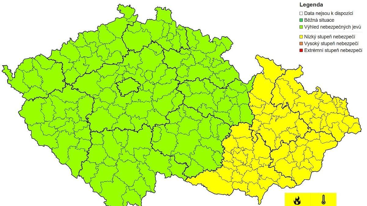 Na Moravu dorazí tropy. Hrozí požáry, varují meteorologové
