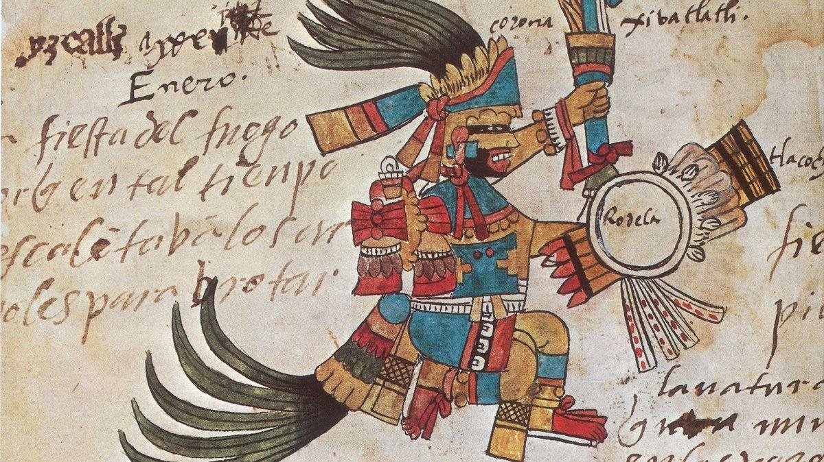 """Zemětřesení zachytili už Aztékové – sledovali je kvůli konci """"slunce"""""""