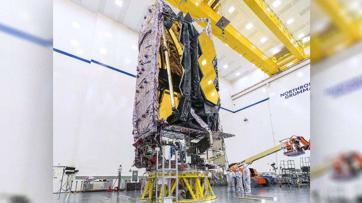 NASA oznámila datum vypuštění teleskopu Jamese Webba
