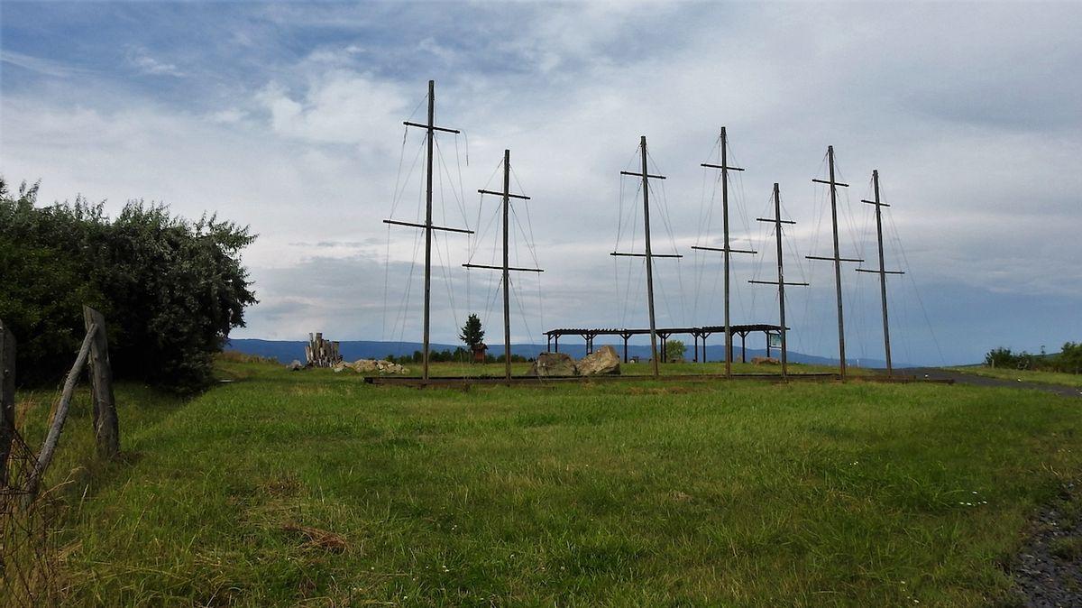 První český imaginární námořní přístav najdete na kopci nad Duchcovem