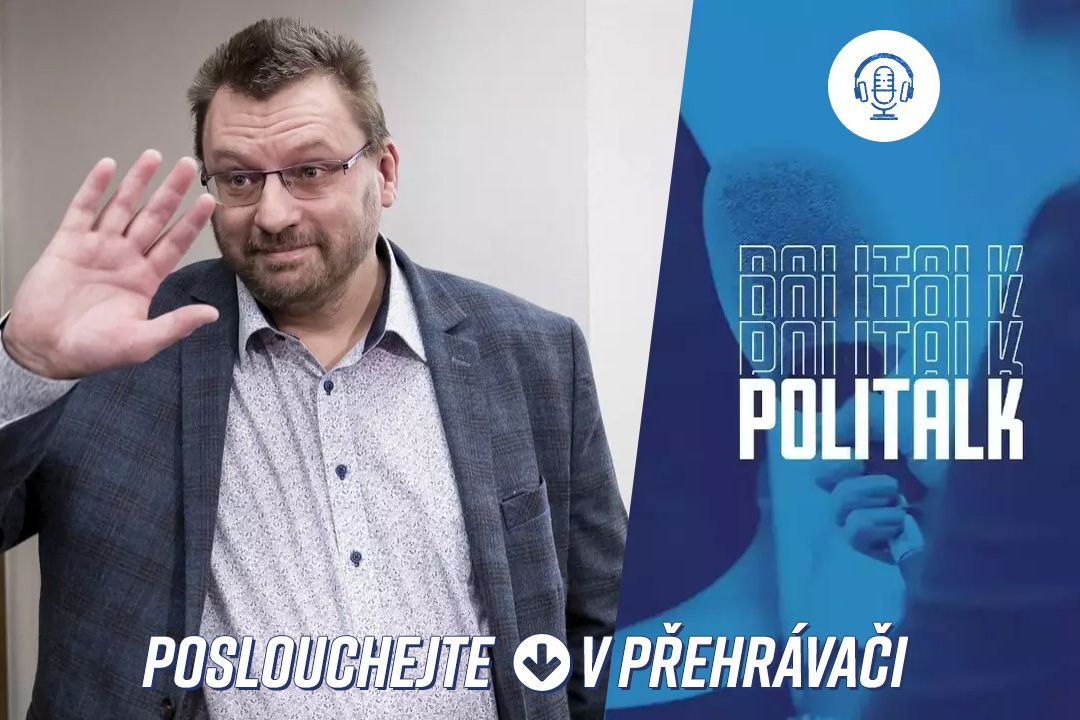 Hostem podcastu PoliTalk byl Lubomír Volný