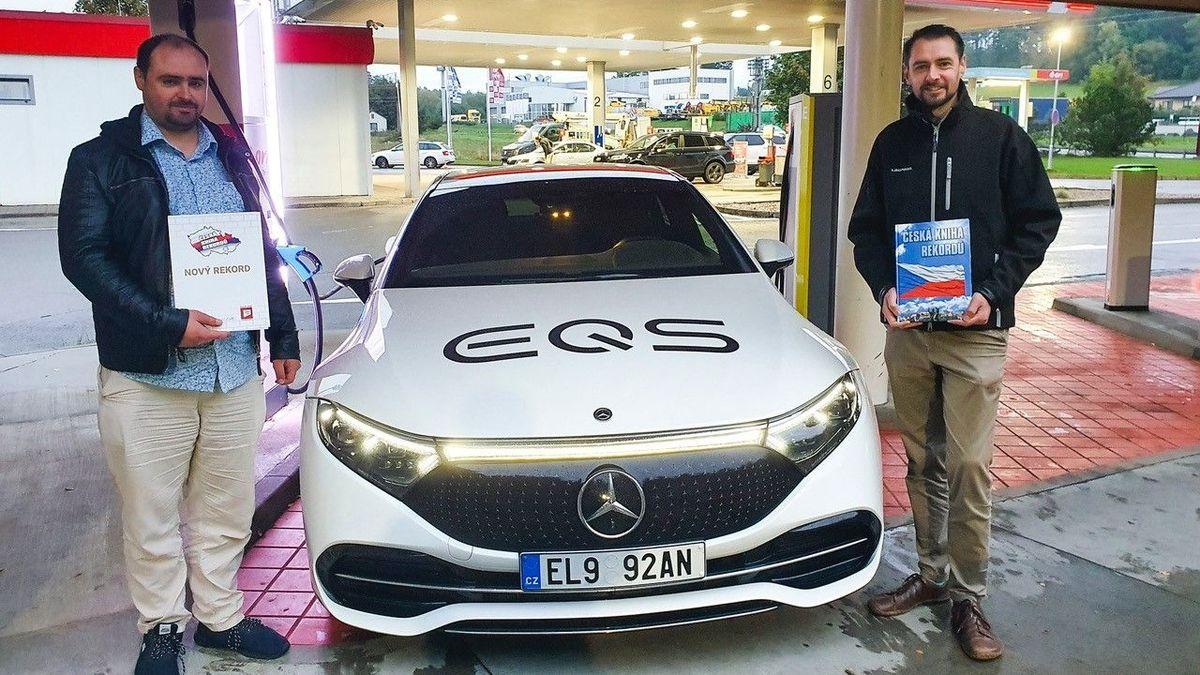 Česko má nový rekord dojezdu elektromobilu