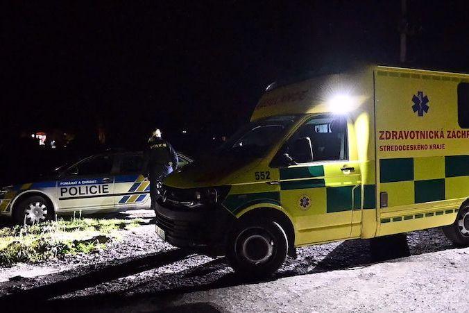 BEZ KOMENTÁŘE: Policisté a záchranáři ve Zdicích na Berounsku