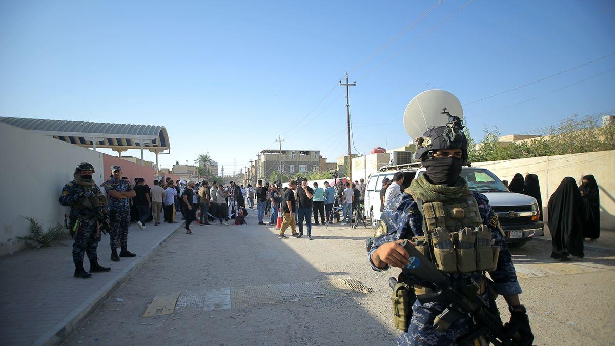 Irácký policista