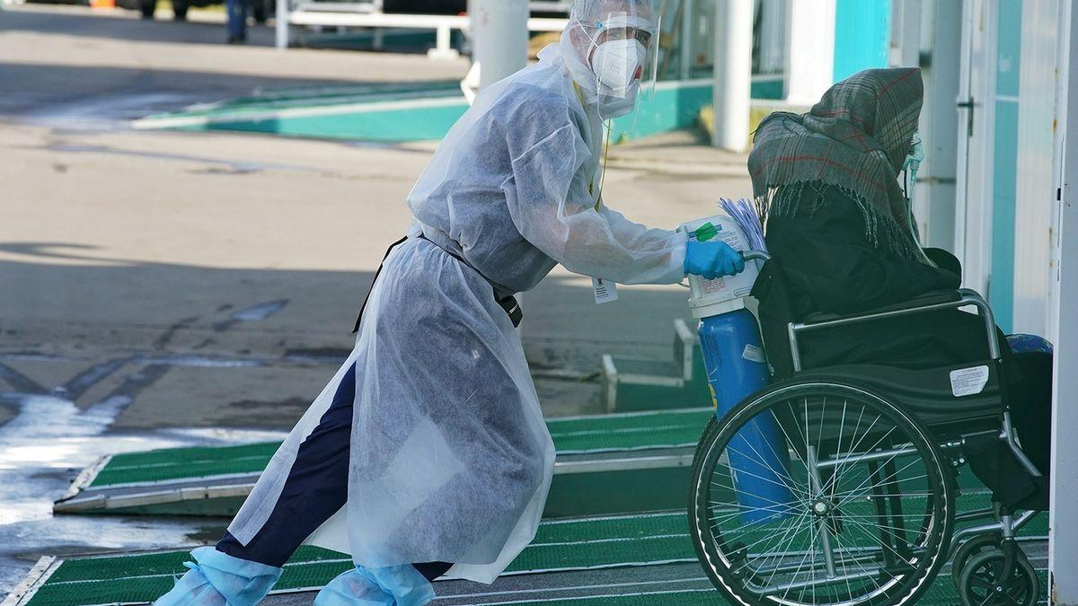 Ruské nemocnice jedou na hraně