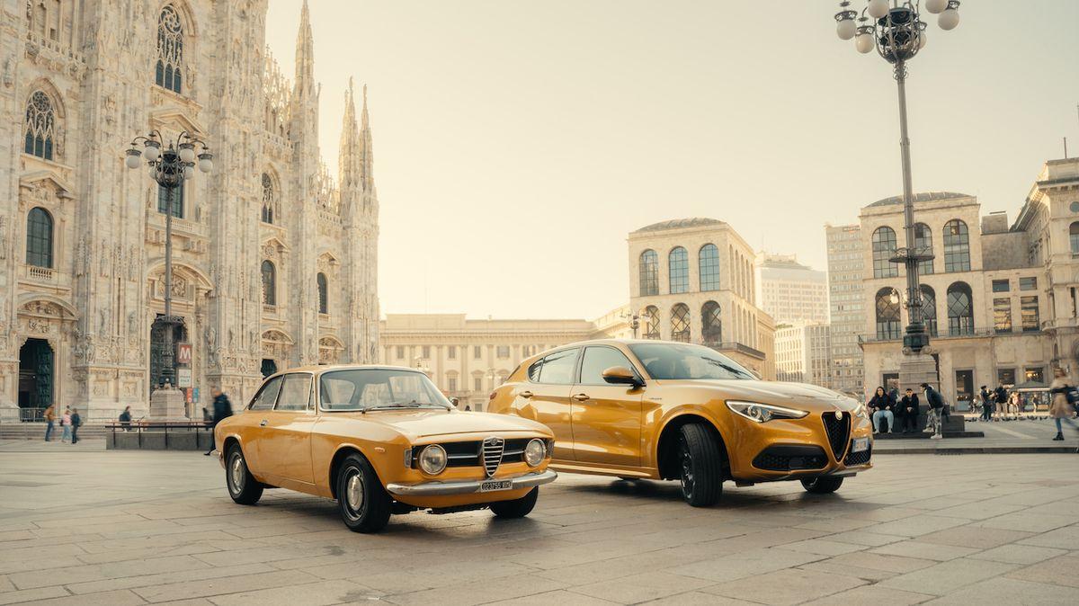 Alfa Romeo Giulia a Stelvio v edici Junior GT inspirované modelem GT 1300 Junior