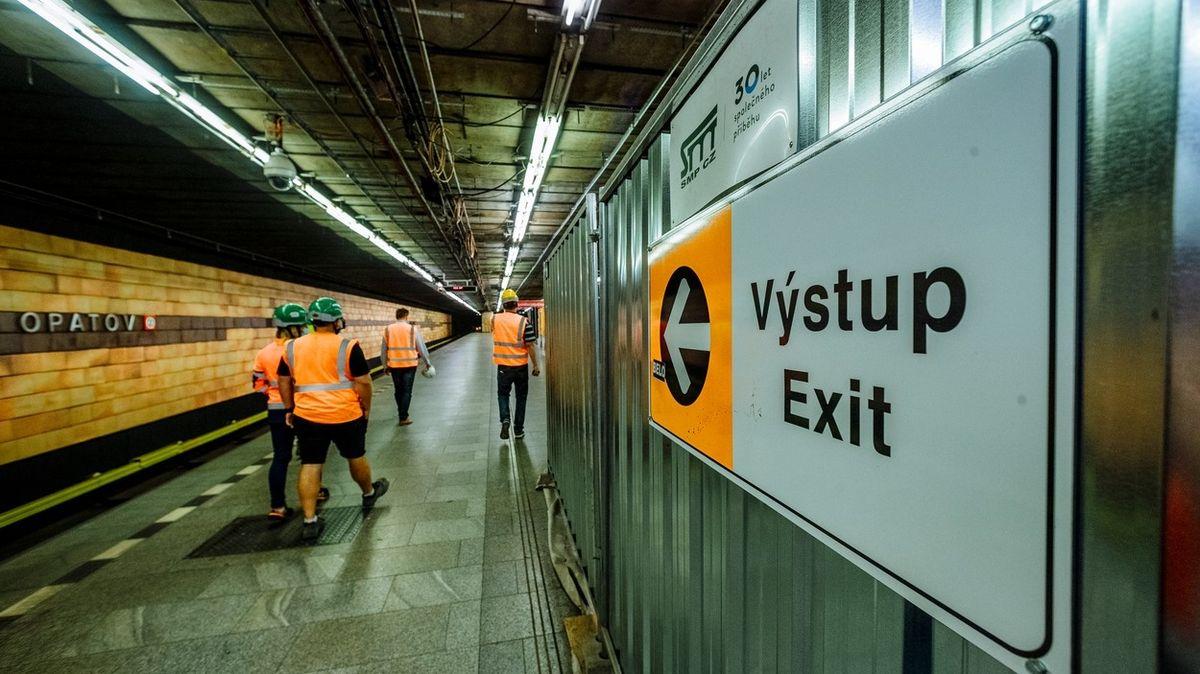 Metro Opatov je bezbariérové, zbývá 16 stanic