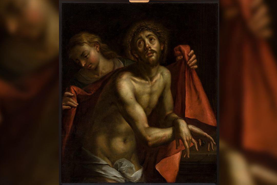 Hans von Aachen: Bolestný Kristus