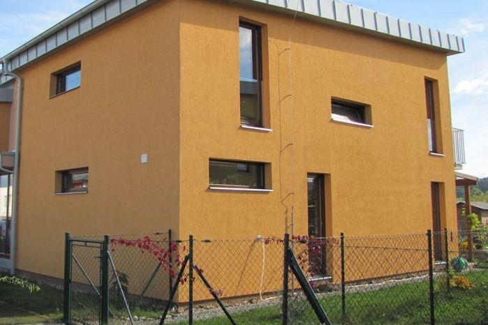 Novostavba rodinného domu byla postavena pouze na základě projektu pro stavební povolení.