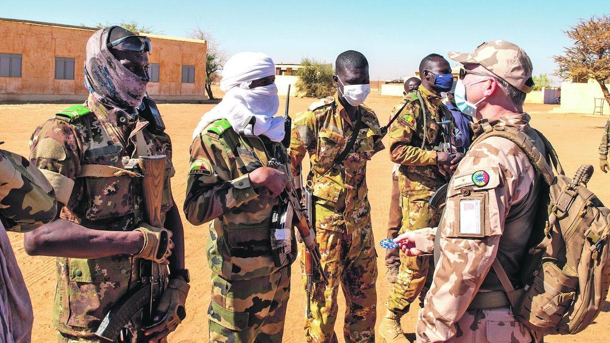 Covid, puč ani monzun české vojáky na velící misi v africkém Mali nedostaly