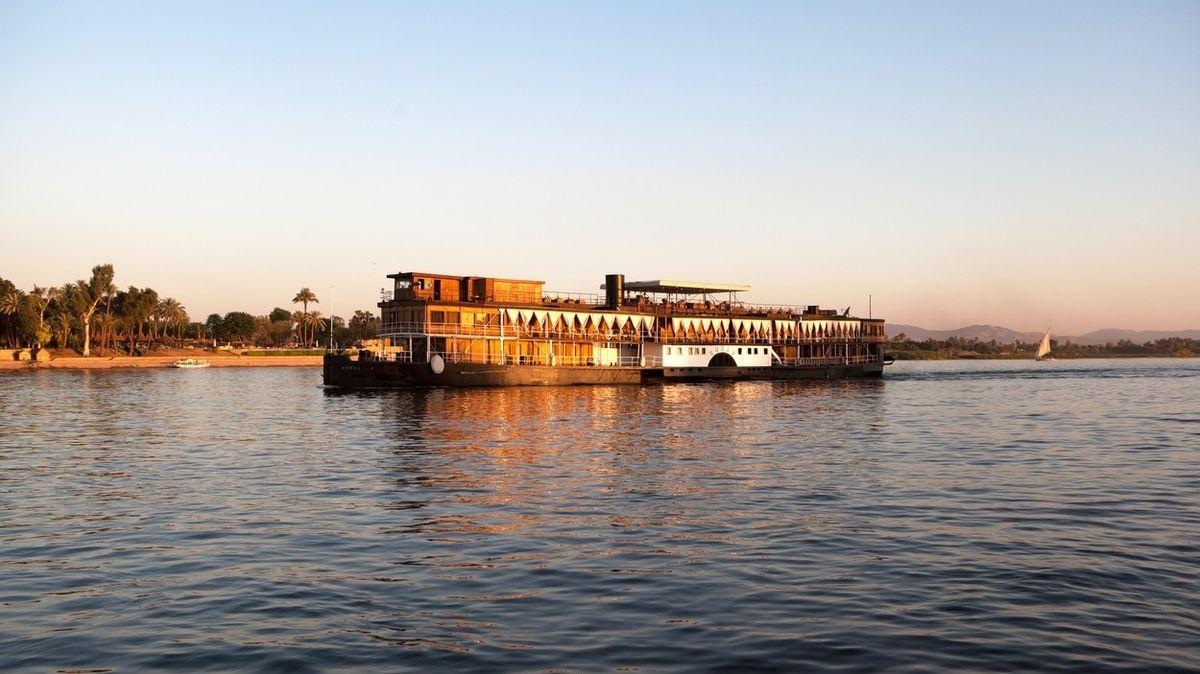 Loď Agathy Christie jezdí po Nilu už sto let