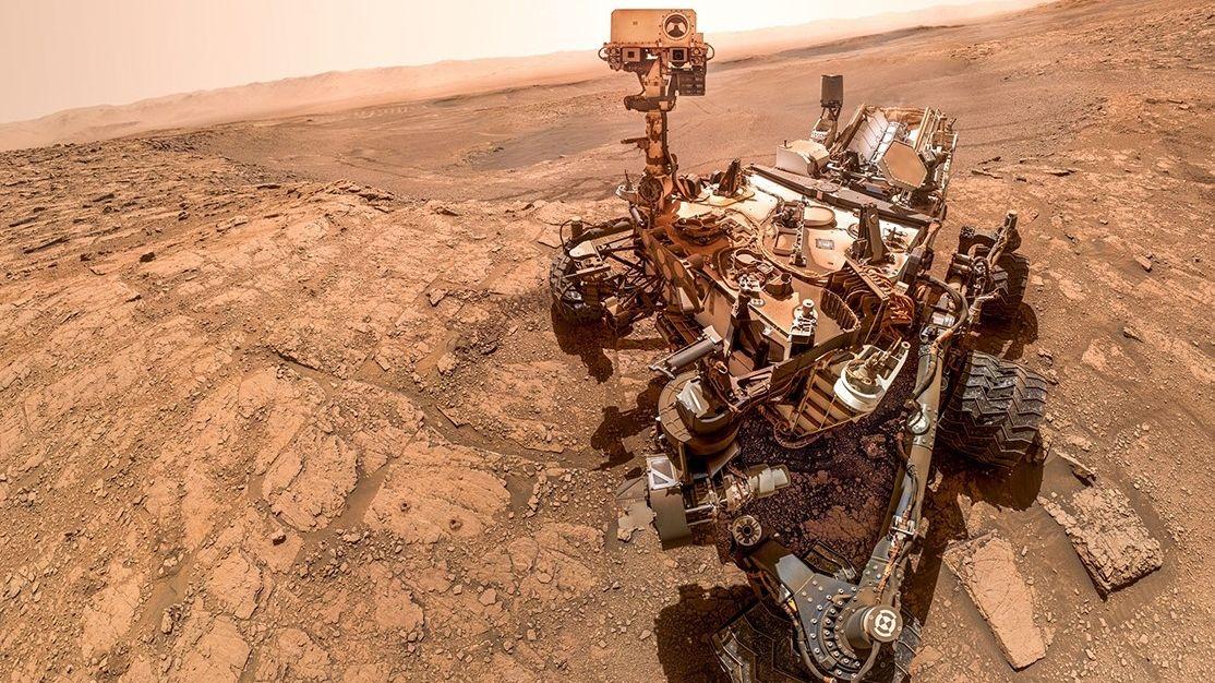 Život na Marsu!