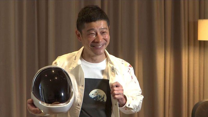 Japonský miliardář hledá společníky na cestu do kosmu