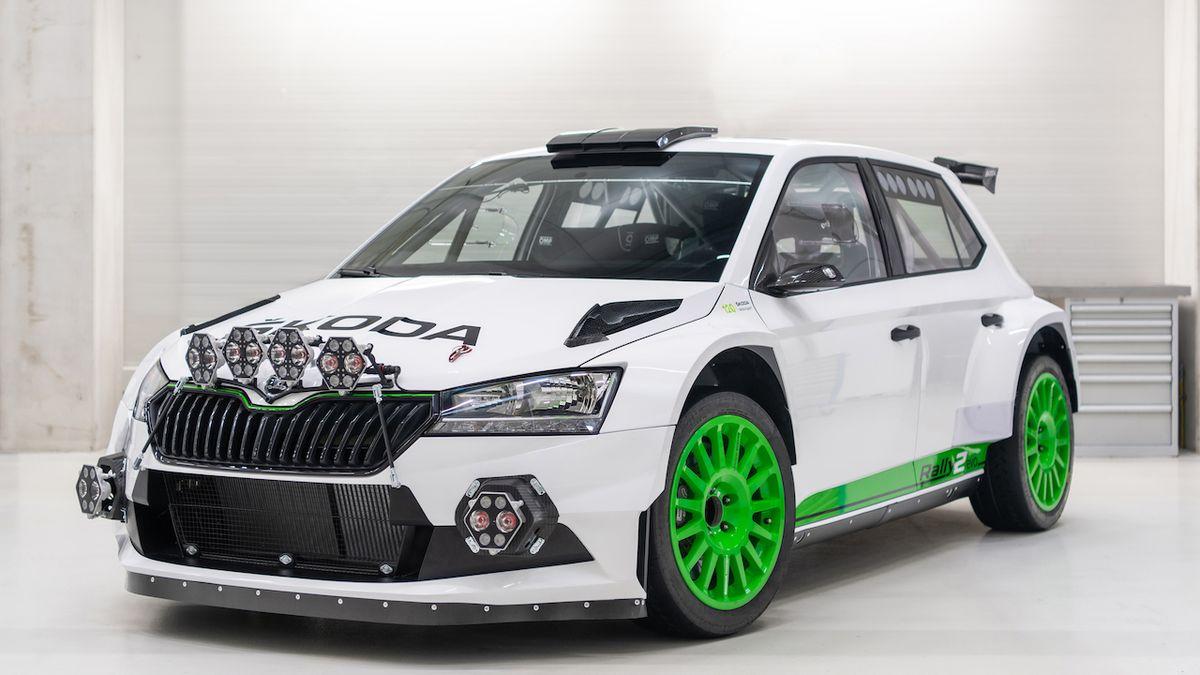 120 let Škody Motorsport oslaví 12 speciálů Fabia Rally2 evo